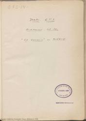"""Cuaderno 14 (Noviembre de 1926). Estreno de la obra """"El caserío"""" en Madrid. Críticas en prensa."""