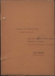 Juan y Manuela : juego de comedia en tres actos original y en prosa / Guillermo Fernández-Shaw.