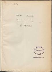 """Cuaderno 15 (Noviembre de 1926-Enero de 1927). Estreno de la obra """"El caserío"""". Críticas en la prensa de varias ciudades y otra documentación."""