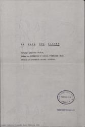 La maja del balcón : estampa goyesca lírica / libro de Guillermo y Rafael Fernández-Shaw. Música de Federico Moreno Torroba.