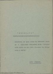 Serenata : comedieta en tres actos / de Federico Romero y Guillermo Fernández-Shaw.