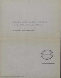 La serrana de La Granja : sinopsis de la zarzuela en tres actos, en verso y original / de Guillermo y Rafael Fernández-Shaw.