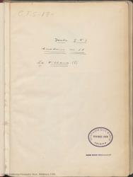 """Cuaderno 18 (Septiembre-Octubre de 1927). Estreno de la obra """"La villana"""" en Madrid. Críticas en prensa y otra documentación."""