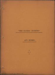 Tres solteros inocentes : comedia en tres actos en prosa / de Federico Romero y Guillermo Fernández-Shaw.