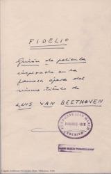 Ver ficha de la obra: Fidelio