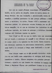 """Constancio en """"La Elipa"""" / Guillermo Fernández-Shaw."""