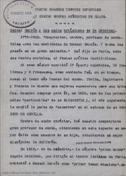 Cuatro grandes tenores españoles y cuatro anécdotas de ellos / firmado por Luis de Avilés.