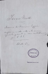 Severo Torelli / drama de François Coppée arreglado en cuatro actos a la escena española y escrito en versos castellanos por Carlos Fernández Shaw.