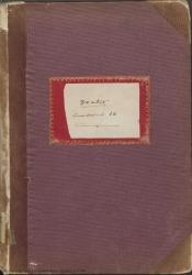 Cuaderno 36 (Marzo de 1944-Abril de 1945). Representaciones y estrenos de varias obras y otras noticias. Críticas en prensa y documentos diversos.