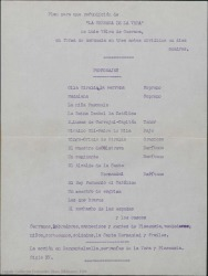 """Plan para una refundición de """"La serrana de la Vera"""" de Luis Vélez de Guevara, en forma de zarzuela en tres actos divididos en diez cuadros / por Guillermo Fernández-Shaw."""
