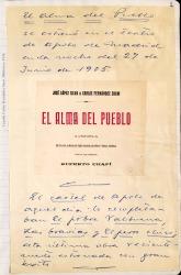 Cuaderno 6 bis (1909-1910). Artículos y crónicas de zarzuelas y libros de Carlos Fernández Shaw.