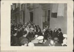 Fotografías del homenaje a Carlos Fernández Shaw en Cádiz.