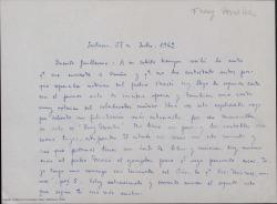 See work details: Fray Martín