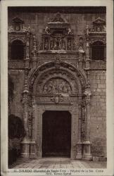 Tarjeta postal de Pierre de Vignier a Guillermo Fernández-Shaw, agradeciéndole las atenciones tenidas con él.