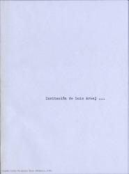 Invitacion de Luis Aruej para que pertenezca Carlos Fernández Shaw a la Sociedad de Autores Españoles. (Madrid)