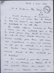 Carta de Francisco Ayala a Guillermo Fernández-Shaw, contándole sus experiencias en Alemania.
