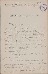Cartas de Manuel Machado a Carlos Fernández Shaw.