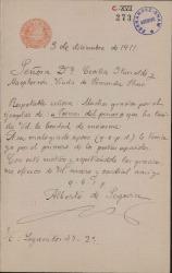 Cartas de Alberto de Segovia a Carlos Fernández Shaw.