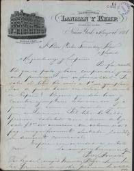 Cartas de Juan Antonio Pérez Bonalde a Carlos Fernández Shaw.