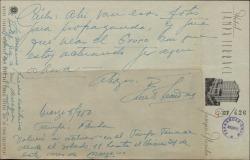 Carta de Ernesto Lecuona acompañada de unas fotos de sus actuaciones en Tampa para propaganda.
