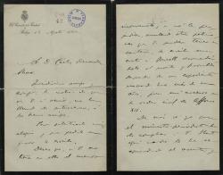 Cartas de Ramón A. Cubano a Carlos Fernández Shaw.