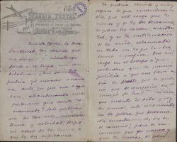 Cartas de José Herrero a Carlos Fernández Shaw.
