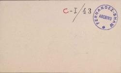 Cartas del Conde de Casa Valencia a Carlos Fernández Shaw.