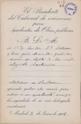 Cartas de Melchor de Palau a Carlos Fernández Shaw.