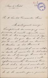 Cartas de Manuel de Sandoval a Carlos Fernández Shaw.
