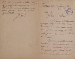 Cartas de Eugenio Casals a Carlos Fernández Shaw.