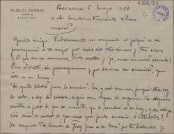Ver ficha de la obra: Carles de Viana. Español; La leçon de Jean de la Croix. Español