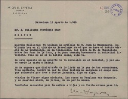 Ver ficha de la obra: La leçon de Jean de la Croix. Español