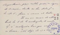 Cartas de Emilio Mesejo a Carlos Fernández Shaw.