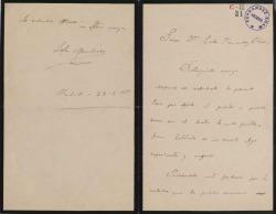 Cartas de Lola Membrives a Carlos Fernández Shaw.