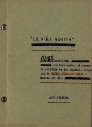 See work details: La niña bonita