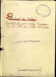 Gusanos de seda : capítulo de una pasión humana, en tres actos, en prosa, original / Rafael Fernández-Shaw.