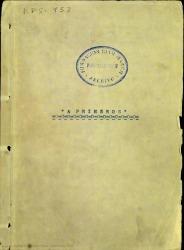 A primeros : ensayo de comedia en un acto dividido en dos cuadros y en prosa / Rafael Fernández-Shaw e Yturralde.