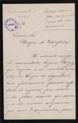 Cartas del Marqués de Viana al Marqués de Valdeiglesias.