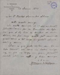Cartas del Marqués de Apezteguía a Carlos Fernández Shaw.