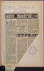 Ver ficha de la obra: La Revoltosa; La vida breve; María Manuela; Sol de Levante