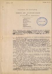 Ritmos de España : argumento para una película original de Miguel de Benois / [Rafael Fernández-Shaw].