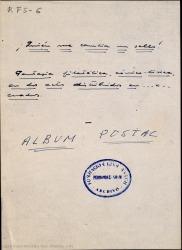 Álbum postal : fantasía filatélica en dos actos / Guillermo y Rafael Fernández-Shaw ; música de Jaime Mestres.