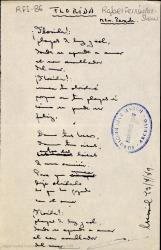 Florida / letra de Rafael Fernández-Shaw ; música de Mtro. Parada.