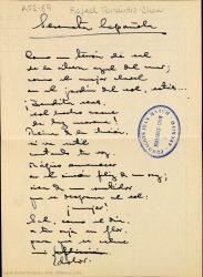 Serenata española / Rafael Fernández-Shaw.