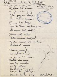 Sobre una melodía de Schubert / Rafael Fernández-Shaw.