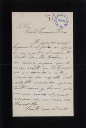 Cartas de Amalio Fernández a Carlos Fernández Shaw.