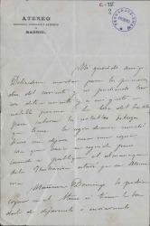 Cartas de Augusto Comas a Carlos Fernández Shaw.