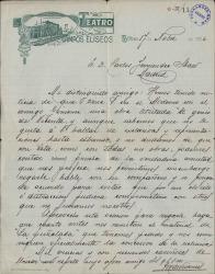 Cartas de J. M. de Vivancos a Carlos Fernández Shaw.