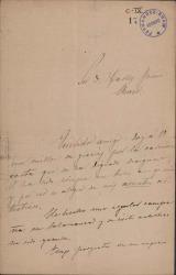 Cartas de Enrique Sánchez a Carlos Fernández Shaw.