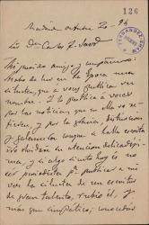 Cartas de Mariano Pina Domínguez a Carlos Fernández Shaw.